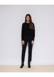 sweter czarny BOSS