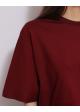 bluzka bordowa COS