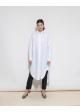 sukienka biała ARKET