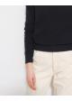 sweter granatowy COS