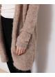 sweter beżowy zapinany SENZE OF JOY