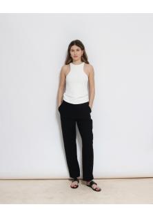 bluzka biała H&M bez rękawów