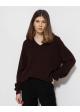 sweter brązowy HACKETT LONDON kaszmir