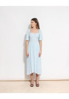 sukienka w kwiatki błękitna & OTHER STORIES