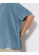 bluzka niebieska jedwabna COS