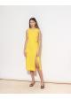 sukienka żółta SANDRO