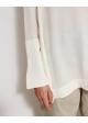 bluzka jedwabna biała kokoon