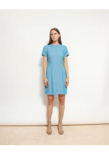 sukienka niebieska ACNE