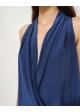 bluzka niebieska TRICOT SILK