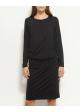 sukienka czarna SAMSOE