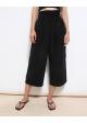spodnie czarne H&M