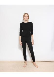 sweter czarny merino