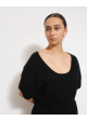 tunika cashmere blend czarna