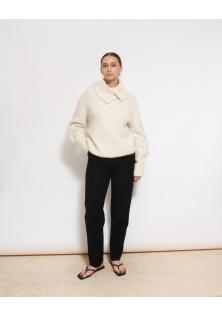 sweter kremowy H&M alpaca blend