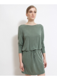 sukienka zielona SAMSOE