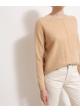 sweter kaszmirowy beżowy