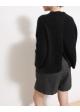 sweter czarny moher SECOND FEMALE