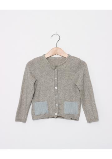 Sweterek Cashmere-Seide