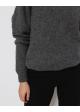 sweter szary alpaca
