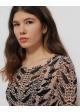 bluzka wzory jedwabna H&M STUDIO
