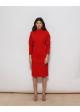 sukienka czerwona outlander