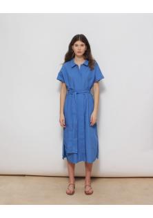 sukienka niebieska COS