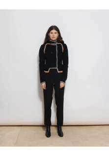 sweter zapinany by malene birger