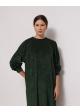 sukienka zielona AMERICAN VINTAGE