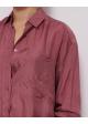 koszula jedwabna różowa