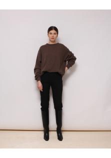 sweter brązowy benetton