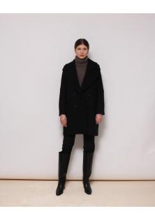 płaszcz czarny UTERQUE
