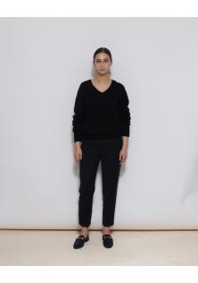 sweter czarny ACNE