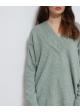 sweter vintage miętowy