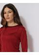 GUDRUNS JODEN czerwona bluzka