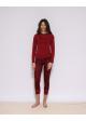 GUDRUNS JODEN czerwone spodnie