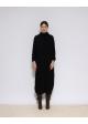 czarna sukienka/sweter COS