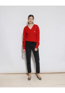 sweter czerwony PRINGLE