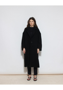 płaszcz czarny ZARA