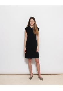 sukienka czarna PRINGLE OF SCOTLAND