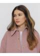 płaszcz różowy w kratkę MANTEGO & OTHER STORIES