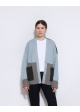 sweter kolorowy zapinany COS