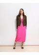 sukienka różowa H&M STUDIO