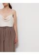spodnie jedwabne
