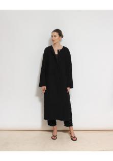 COS płaszcz czarny
