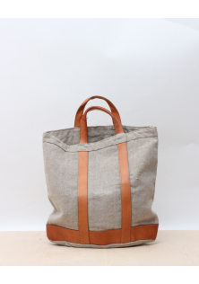 LINEN / LEATHER