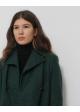 płaszcz zielony linje